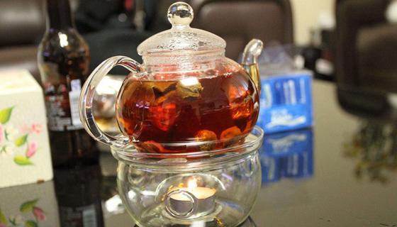 西洋参红枣茶养心神