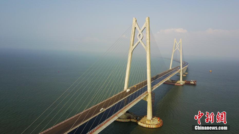 港珠澳大桥主体工程即将全线贯通
