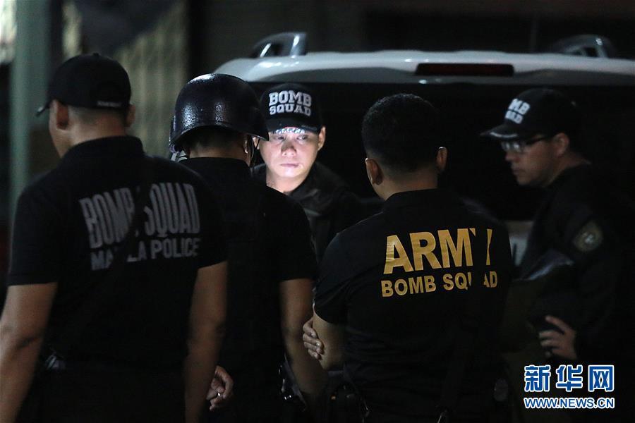菲律宾首都发生两起爆炸致2死 因帮派械斗而起
