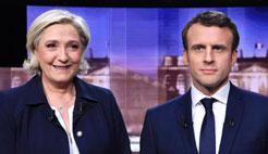 法国总统选举第二轮投票7日举行 上演终极PK