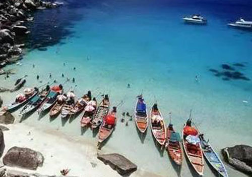 浪漫苏梅岛|清水白沙 月牙海滩(图)