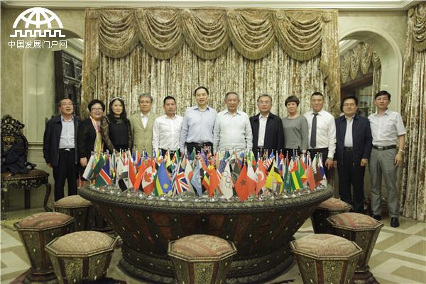 Li Ruohong Met WCCO President Zhu Minyang