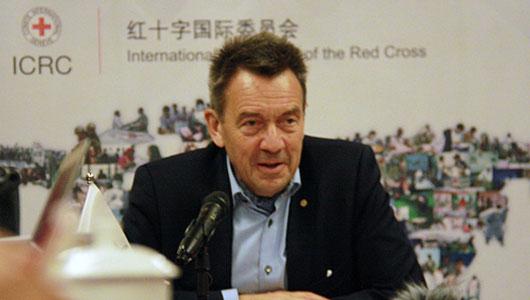 红十字国际委员会主席:与中国加强合作 为'一带一路'做贡献