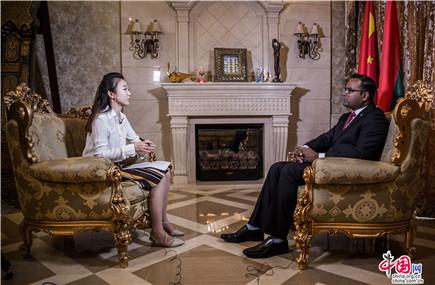 """馬爾地夫駐華大使:全力支援""""一帶一路""""倡議"""