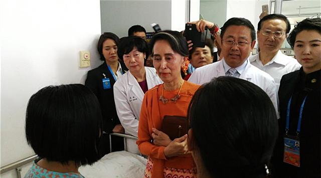 民心相通 從'心'開始——記緬甸先天性心臟病兒童救助行動