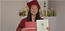 美華裔女生意外獲哈佛全額獎學金
