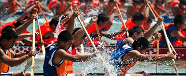 端午佳節賽龍舟 看國外傳統節日賽船有何不同