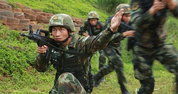 海南武警吳騰飛:做一顆永遠上膛的子彈