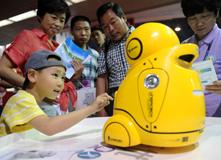 2012年,小顽童对话亲子机器人