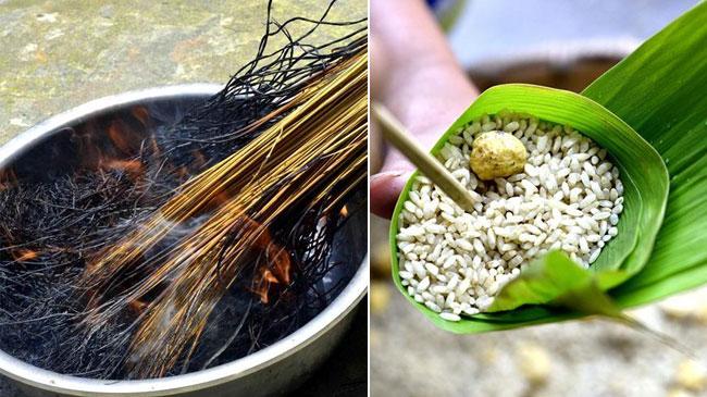 """与""""粽""""不同——侗寨草灰粽"""