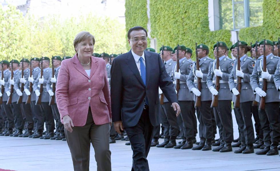 李克强同德国总理默克尔举行中德总理年度会晤