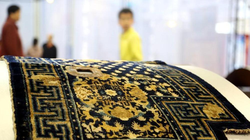中国古董地毯首次亮相 可追溯至19世纪