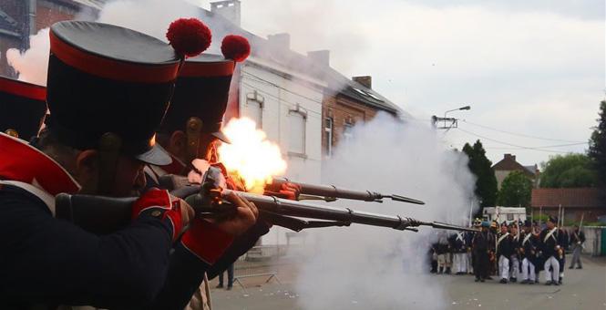再现利尼战役——拿破仑的最后一场胜仗