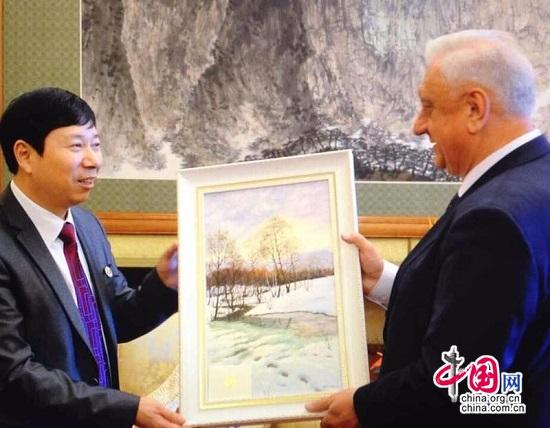 白俄罗斯文化联盟与中国文艺界人士在京举行联欢活动