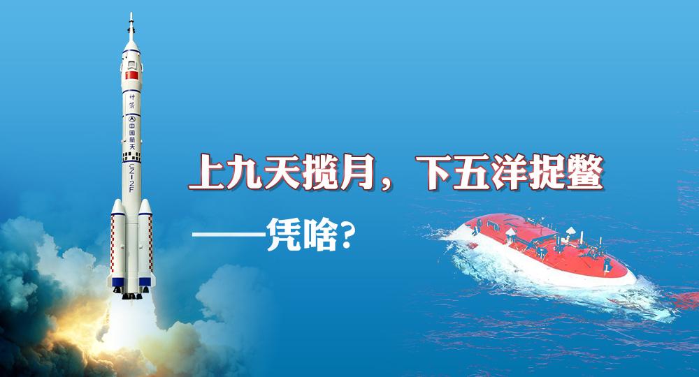 双周会:上九天揽月,下五洋捉鳖——凭啥?