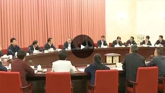 """""""努力推进养老服务""""政协双周会录播"""