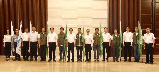 """湖南省长许达哲出席""""六·五""""环境日纪念活动"""