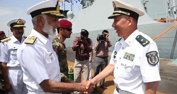 中国海军远航访问编队抵达巴基斯坦访问