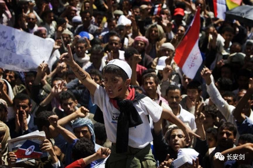 (圖:阿拉伯之春中的孩子。)