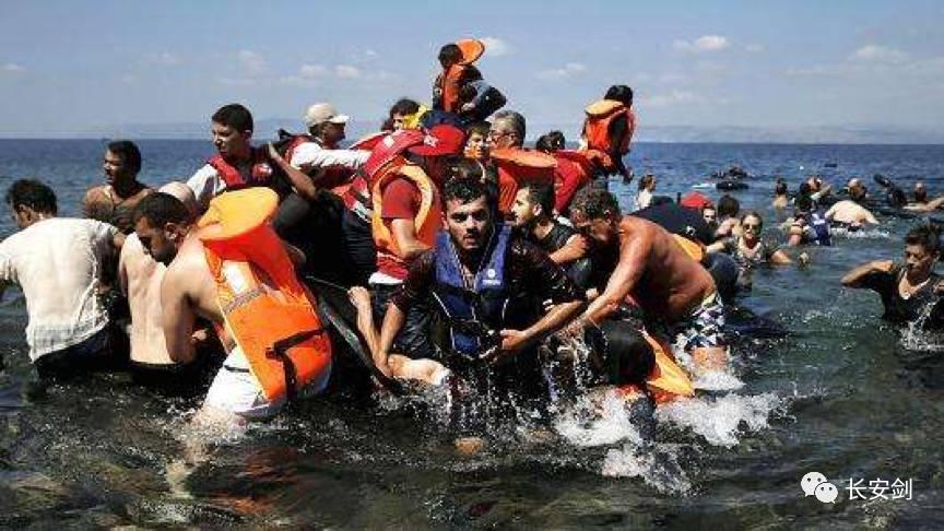 (圖:歐洲難民危機愈演愈烈。)