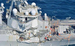 美菲撞船后宙斯盾舰几近瘫痪 驱逐舰为何撞不过商船