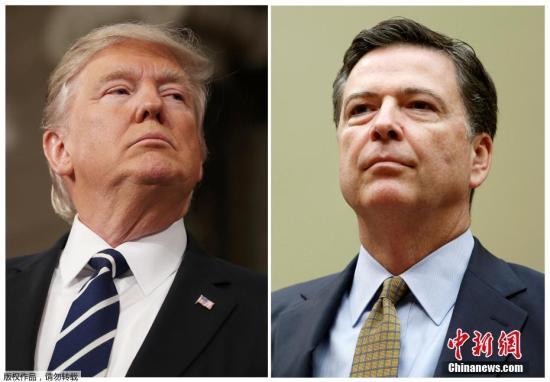 美国总统特朗普5月9日解除联邦调查局局长科米职务。