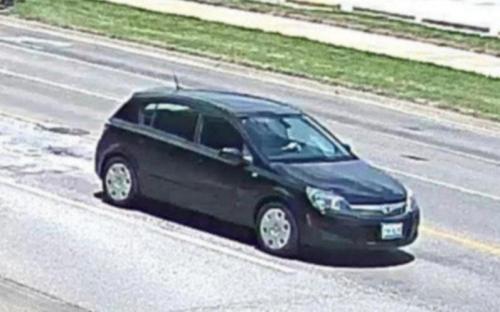 FBI官网公布的嫌疑车辆图片。