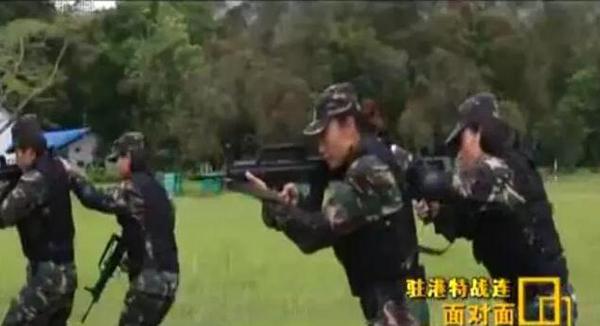 驻港部队特种作战连:女战士也要推2吨重车走5公里