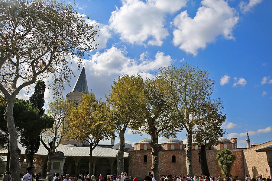 蓝色土耳其(十 三)托普卡帕宫,铜雀深锁与豁然开朗