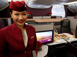 五星级体验!卡塔尔航空超豪华商务舱曝光