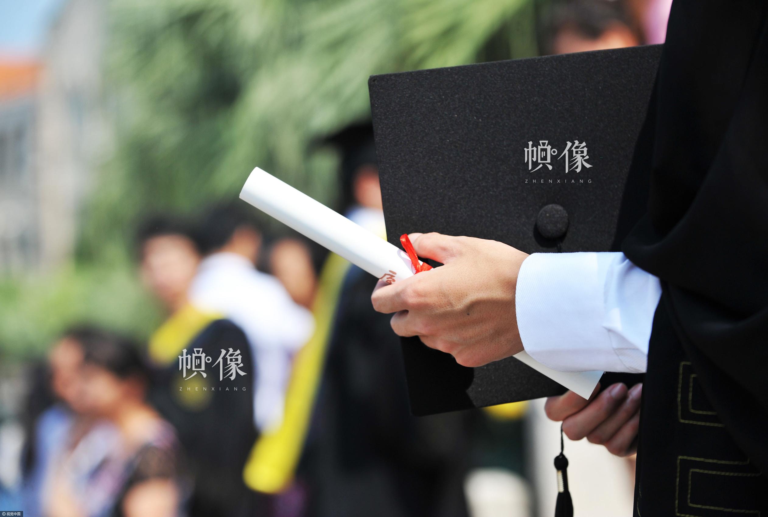 2011年6月26日,福建厦门,厦门大学举行2011届毕业生毕业典礼。视觉中国供图