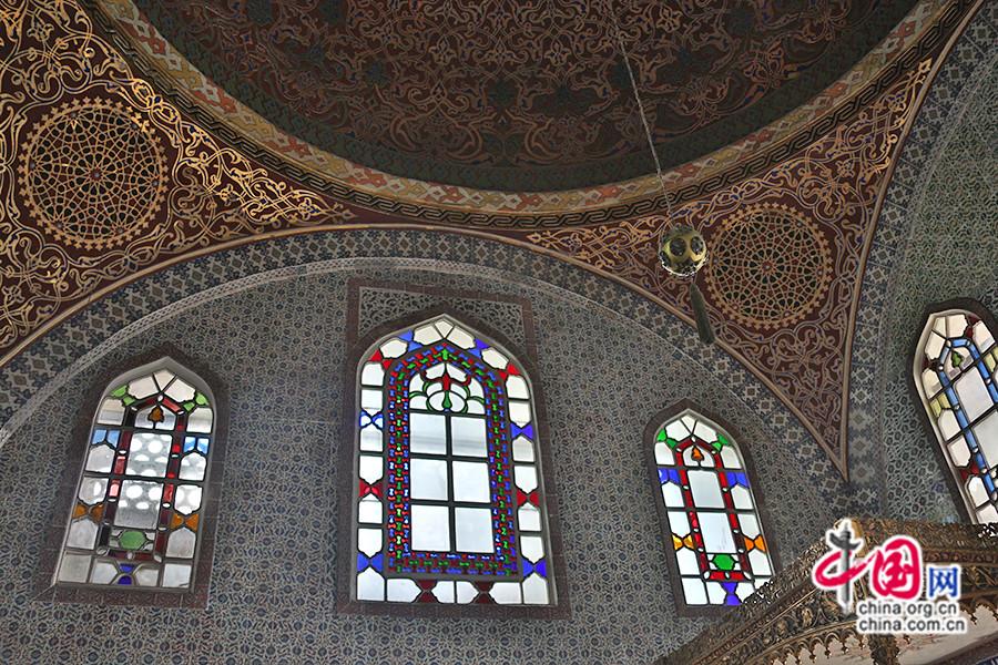 穆拉德三世私人宫殿是后宫中最奢华的房间之一