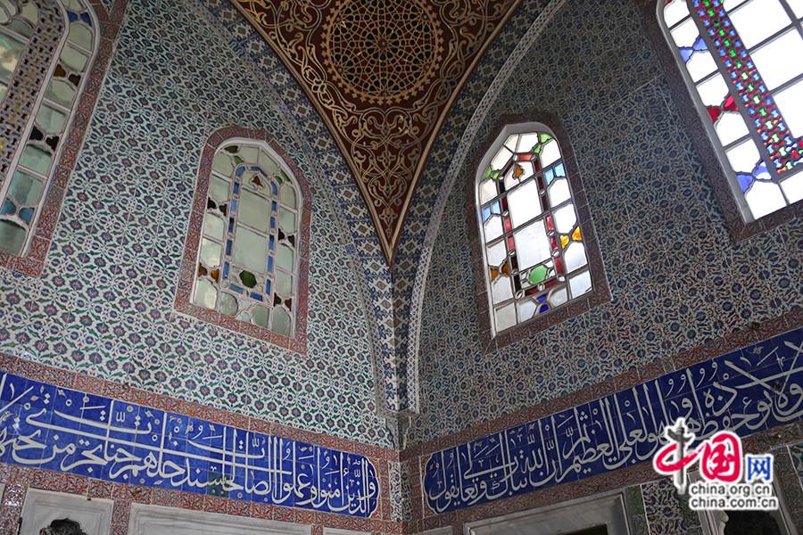 穆拉德三世私人宫殿内部装饰保存完好