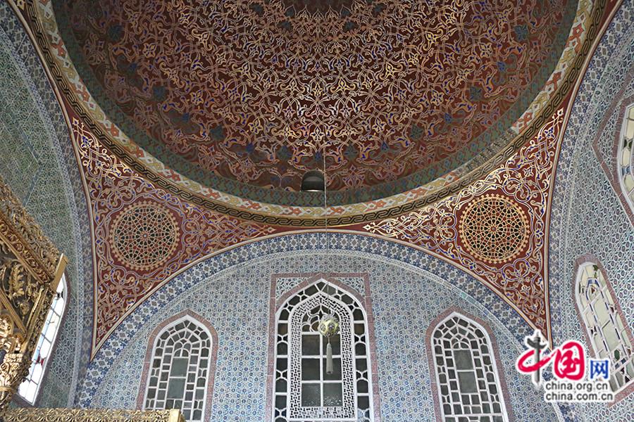 穆拉德三世私人宫殿的装饰出自希南之手