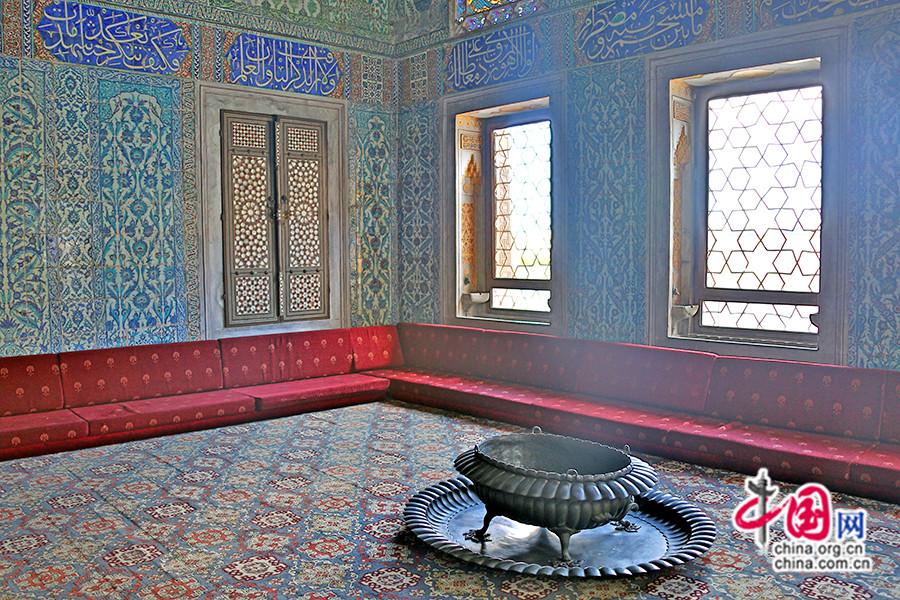 穆拉德三世私人宫殿休息区