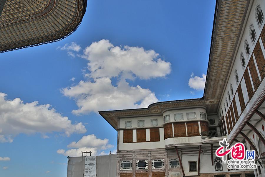 艾哈迈德三世私人宫殿为双层建筑