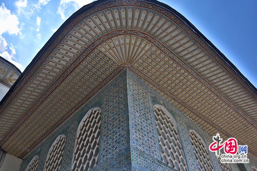 穆拉德三世私人宫殿华美的檐下装饰