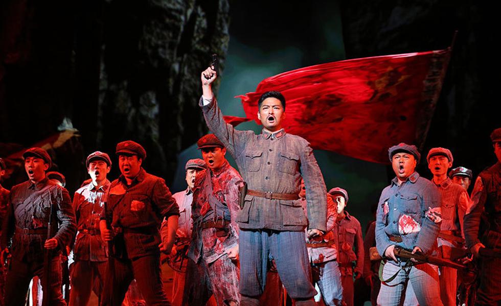 国家大剧院原创歌剧《方志敏》献礼建党节