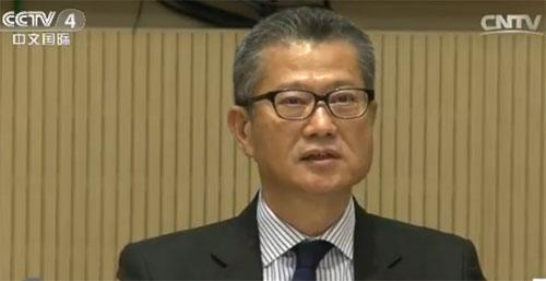 香港财政司司长陈茂波