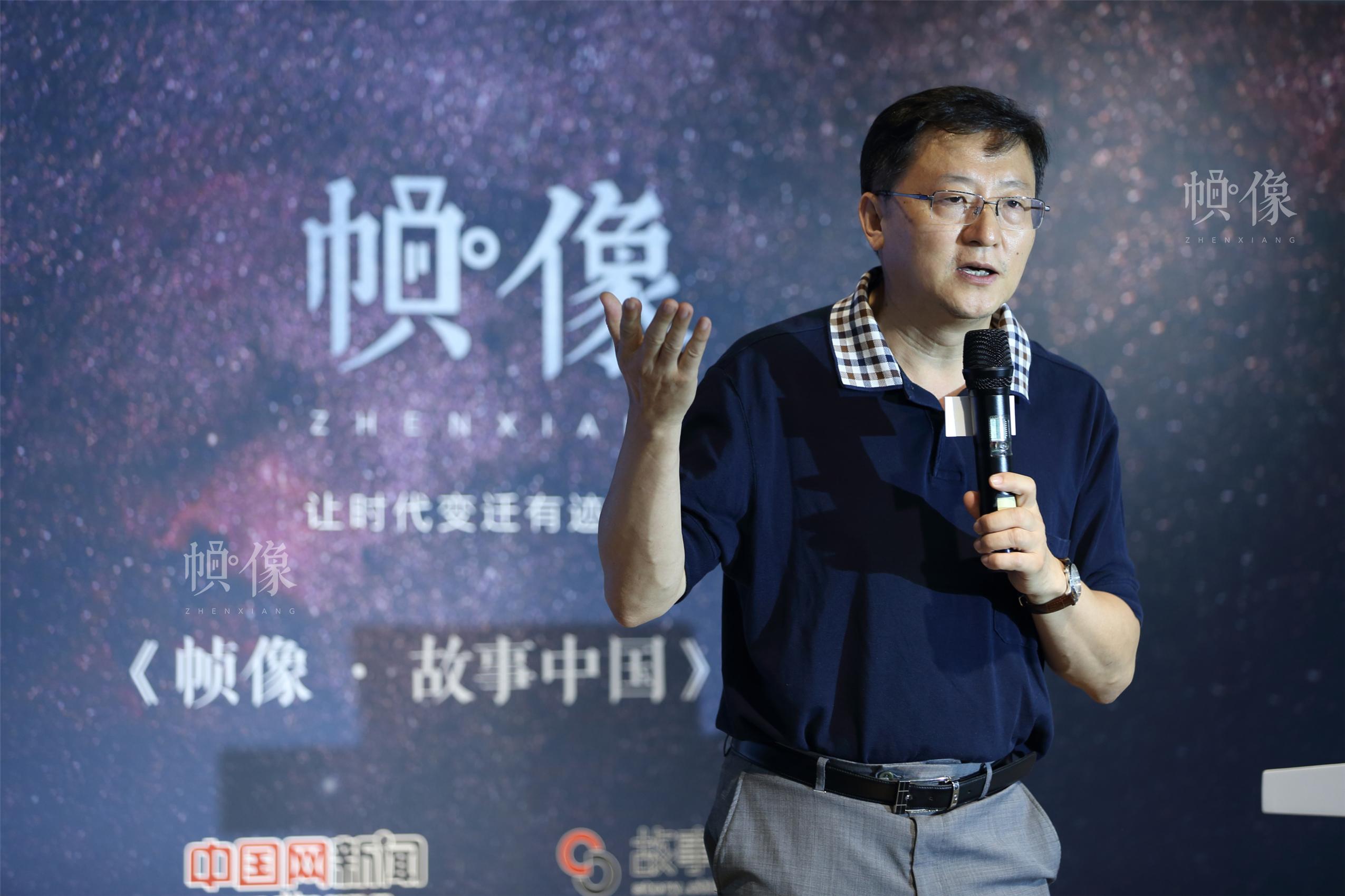 中国网总编辑王晓辉。中国网记者 陈维松 摄