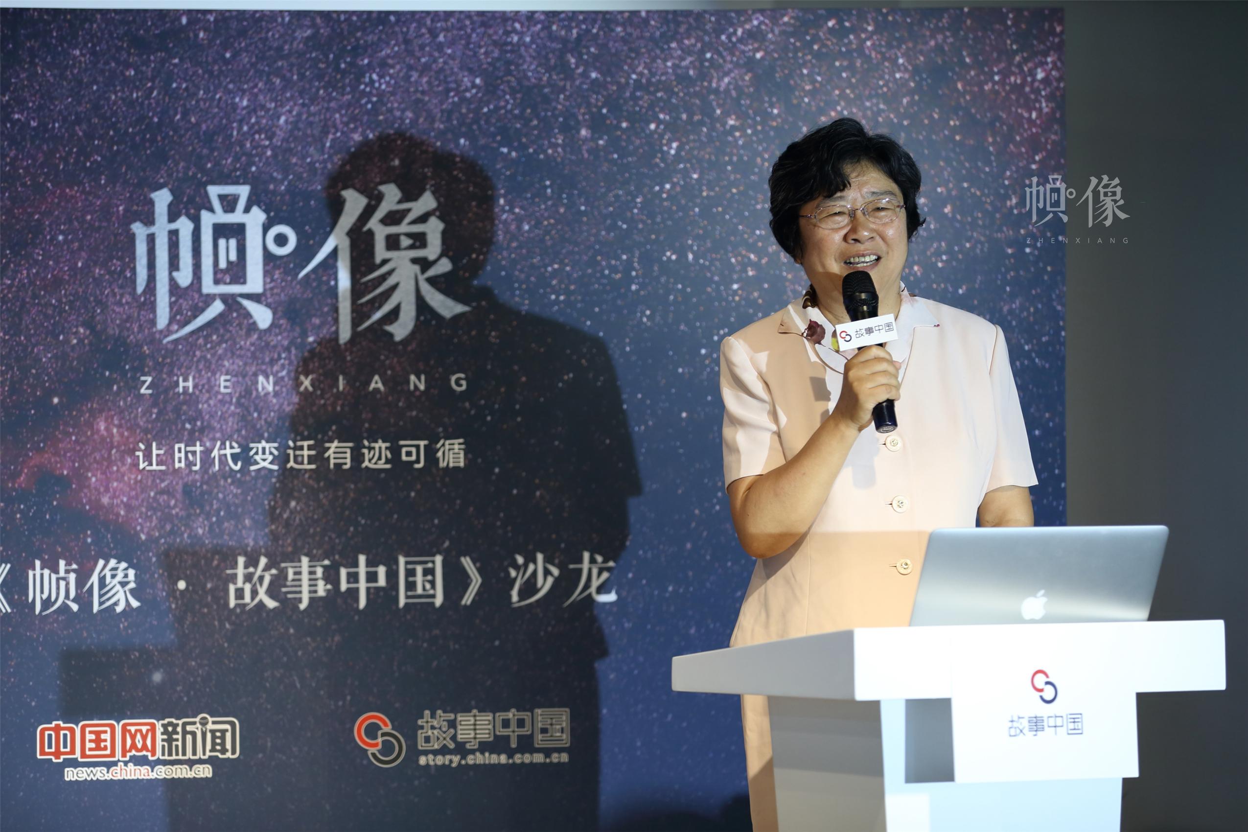清华大学校务委员会副主任、原党委副书记韩景阳分享经历。中国网记者 陈维松 摄