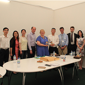 Beijing International Horticultural Exposition Coordination Bureau Promotes the Event in UK and Spain
