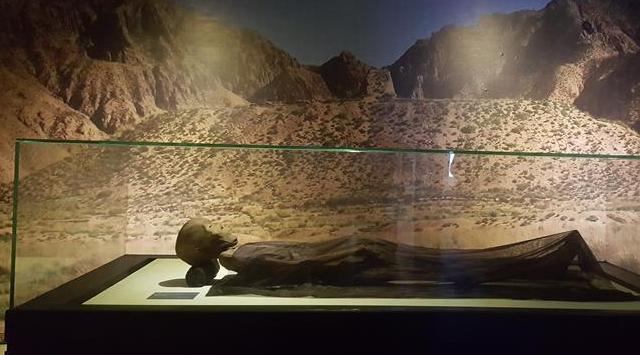 古絲綢之路青海道發現千年幹屍 容貌清晰可辨