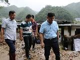 湖南岳阳:彭世理深入一线指导防汛救灾工作