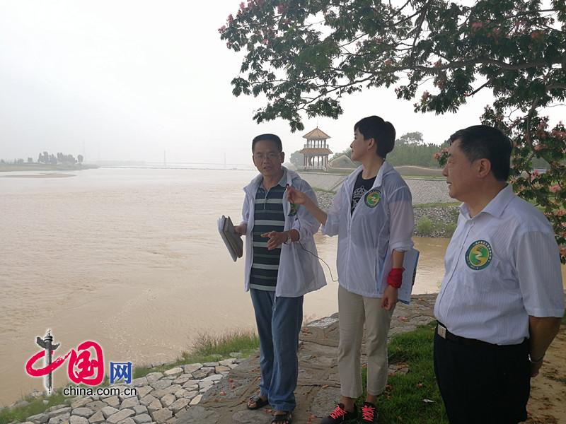 保护黄河万里直播行动 东营