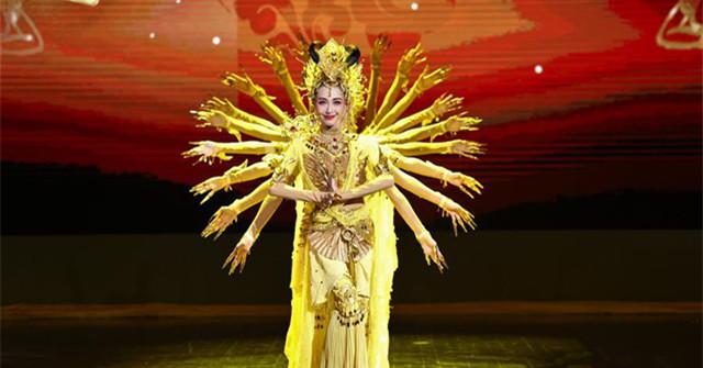 中國國家館日專場晚會在阿斯塔納專項世博會上演