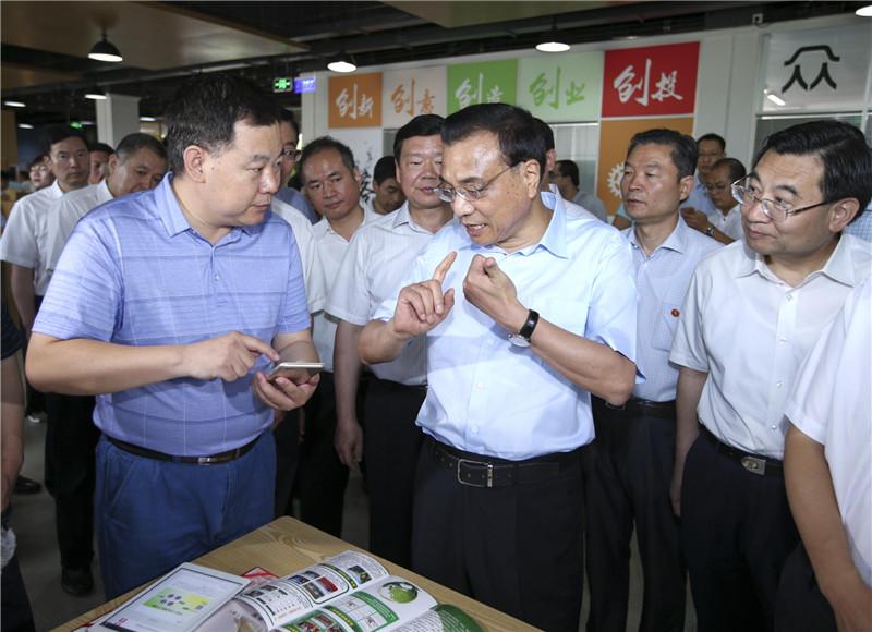 李克强在陕西考察:加快改革创新 补上民生短板