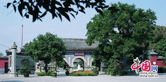 《中国道教协会成立60周年成就展》之宫观建设(一)