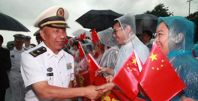 中国海军远航访问编队抵达土耳其进行友好访问