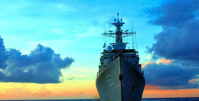 水兵眼中的海之美